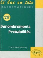 Denombrements ; Probabilites - Couverture - Format classique