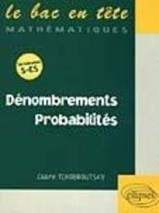 Denombrements ; Probabilites - Intérieur - Format classique