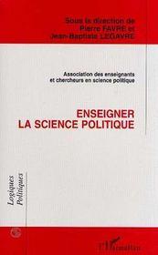 Enseigner la science politique - Intérieur - Format classique