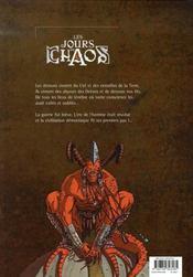 Les jours du chaos t.1 ; diabolux ex machina - 4ème de couverture - Format classique