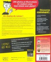 L'histoire de France illustrée pour les nuls - 4ème de couverture - Format classique