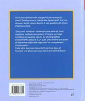 La Foret Vierge - 4ème de couverture - Format classique