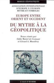 Du Mythe A La Geopolitique - Couverture - Format classique