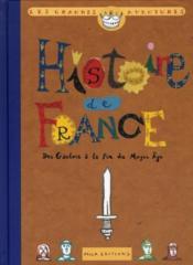 Histoire de France t.1 ; des gaulois à la fin du Moyen-Age - Couverture - Format classique