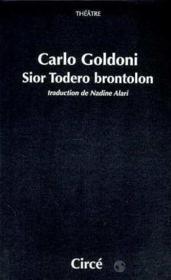 Sior Todero Brontolon - Couverture - Format classique