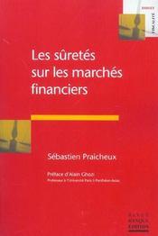 Les suretes sur les marches financiers - Intérieur - Format classique