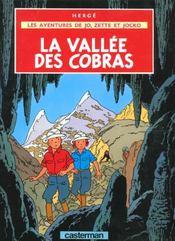 Les aventures de Jo, Zette et Jocko t.5 ; la vallée des cobras - Intérieur - Format classique