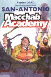 MACCHAB ACADEMY, Les Nouvelles aventures de San Antonio - Couverture - Format classique