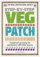 Rhs Step-By-Step Veg Patch - Couverture - Format classique
