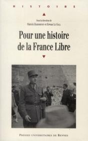 Pour une histoire de la France libre - Couverture - Format classique