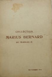 Collection Marius Bernard De Marseille. - Couverture - Format classique