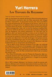Les travaux du royaume - 4ème de couverture - Format classique