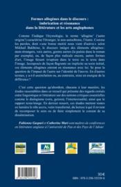 Rives ; Cahiers De L'Arc Atlantique N.6 ; Formes Allogènes Dans Le Discours ; Imbrication Et Résonance Dans La Littérature Et Les Arts Anglophones - 4ème de couverture - Format classique