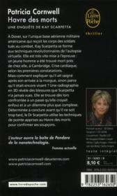 Havre des morts - 4ème de couverture - Format classique