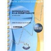 Introduction à la comptabilité ; unité d'enseignement 9 du DCG ; cas pratiques ; corrigé (5e édition) - Couverture - Format classique