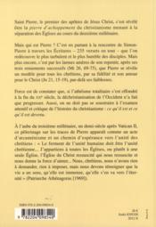 Les Larmes De Pierre. Preface B Bobrinskoy - 4ème de couverture - Format classique