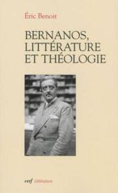 Bernanos Litterature Et Theologie - Couverture - Format classique