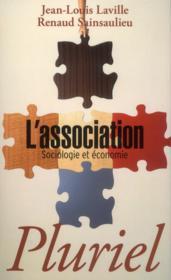 L'association ; sociologie et économie - Couverture - Format classique