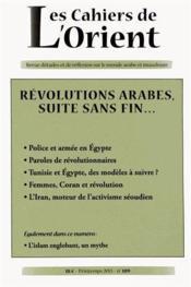 Cahiers De L'Orient N.109 ; Foi Et Culture - Couverture - Format classique