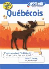 telecharger GUIDES DE CONVERSATION – quebecois livre PDF/ePUB en ligne gratuit