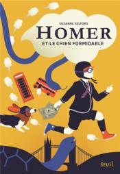 Homer et le chien formidable - Couverture - Format classique