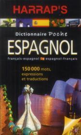 Dictionnaire Harrap's poche ; français-espagnol/espagnol-français (édition 2013) - Couverture - Format classique