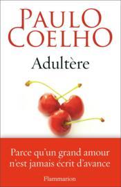 Adultère - Couverture - Format classique