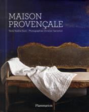 Maison provencale - Couverture - Format classique