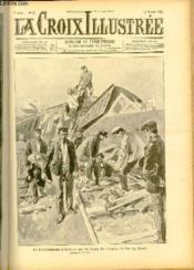 LA CROIX ILLUSTREE N° 95 - Troisième année - Le déraillement d'Arleux sur la ligne de chemin de fer du Nord (Dessin de Tofani). - Couverture - Format classique