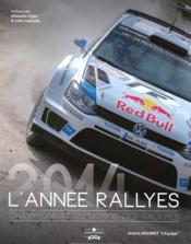 L'année rallyes 2014 - Couverture - Format classique
