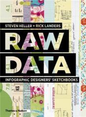 Raw data: infographic designers' sketchbooks - Couverture - Format classique