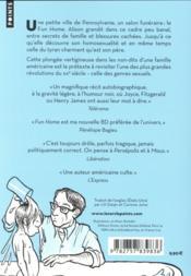 Fun home ; une tragicomédie familiale - 4ème de couverture - Format classique