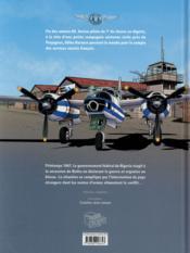 Une aventure de Gilles Durance T.1 ; le bombardier blanc - 4ème de couverture - Format classique