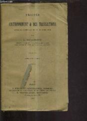 Traites Du Cautionnement Et Des Transactions Livre Iii Titres Xiv Et Xv Du Code Civil - (Articles 2011 A 2058). - Couverture - Format classique