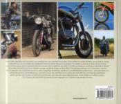 Motos rétro - 4ème de couverture - Format classique