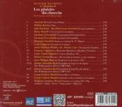 Les plaisirs du clavecin - 4ème de couverture - Format classique