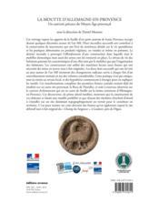La Moutte d'Allemagne-en-Provence ; un castrum précoce du moyen âge provençal - 4ème de couverture - Format classique