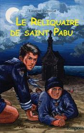 Le reliquaire de saint Pabu - Intérieur - Format classique