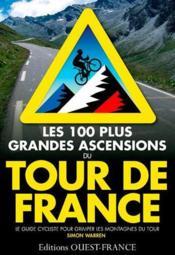 100 plus grandes ascensions tour de France - Couverture - Format classique