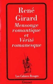 Mensonge romantique et verite romanesque - Intérieur - Format classique