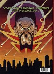 Une aventure intersidérante de Splash Gordon dans Mongo Fury - 4ème de couverture - Format classique