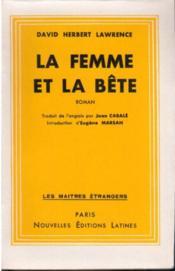 La femme et la bête - Couverture - Format classique