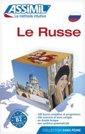 Le Russe - Couverture - Format classique