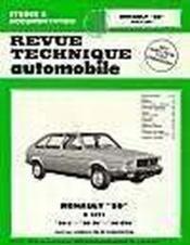 Rta 362.3 Renault 20 L - Tl Et Gtl (1976/1982) - Couverture - Format classique