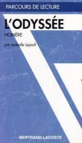 L'odyssée, d'Homère - Couverture - Format classique