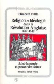 Religion Et Ideologie Dans La Revolution Anglaise - Couverture - Format classique