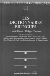 Dictionnaires bilingues (les) - Couverture - Format classique