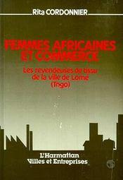 Femmes Africaines Et Commerce - Intérieur - Format classique