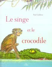 Le singe et le crocodile - Intérieur - Format classique