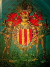 Armorial historique et monumental de la Haute Marne - Couverture - Format classique